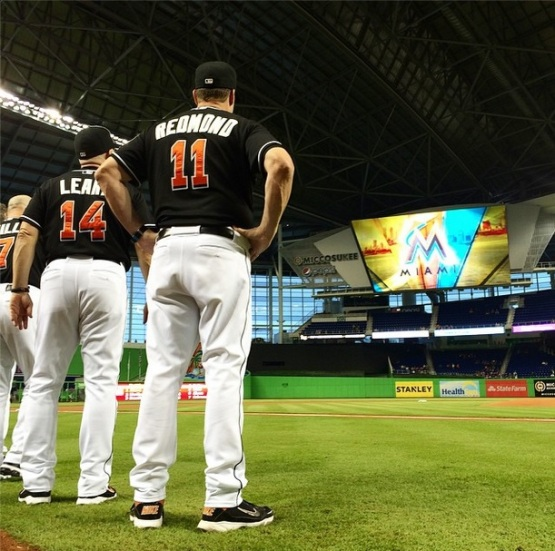 Foto via Miami Marlins Instagram